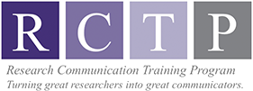 Research Communication Training Program (RCTP)